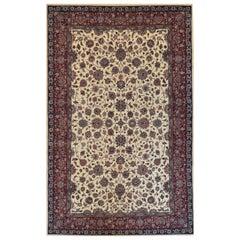 Handwoven Tabriz Style Rug