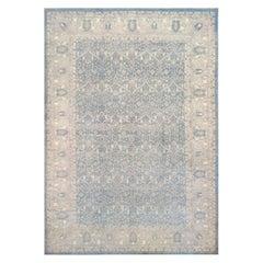 Handwoven Tabriz Style Wool Rug