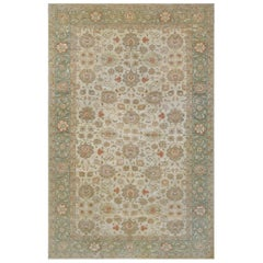 Handwoven Wool Revival Sultanabad Rug