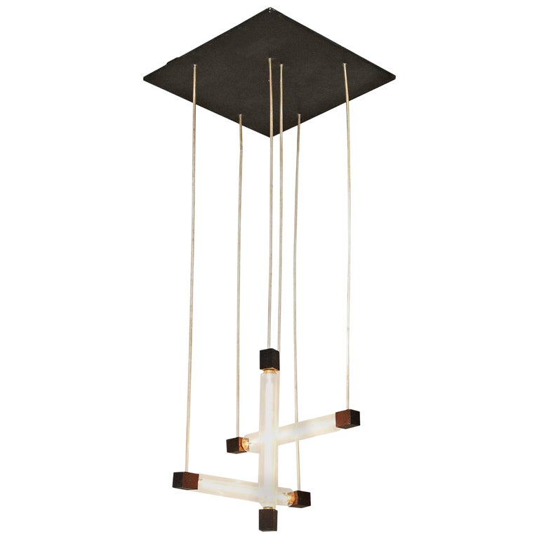 Hanging Lamp in the Style of Gerrit Rietveld For Sale