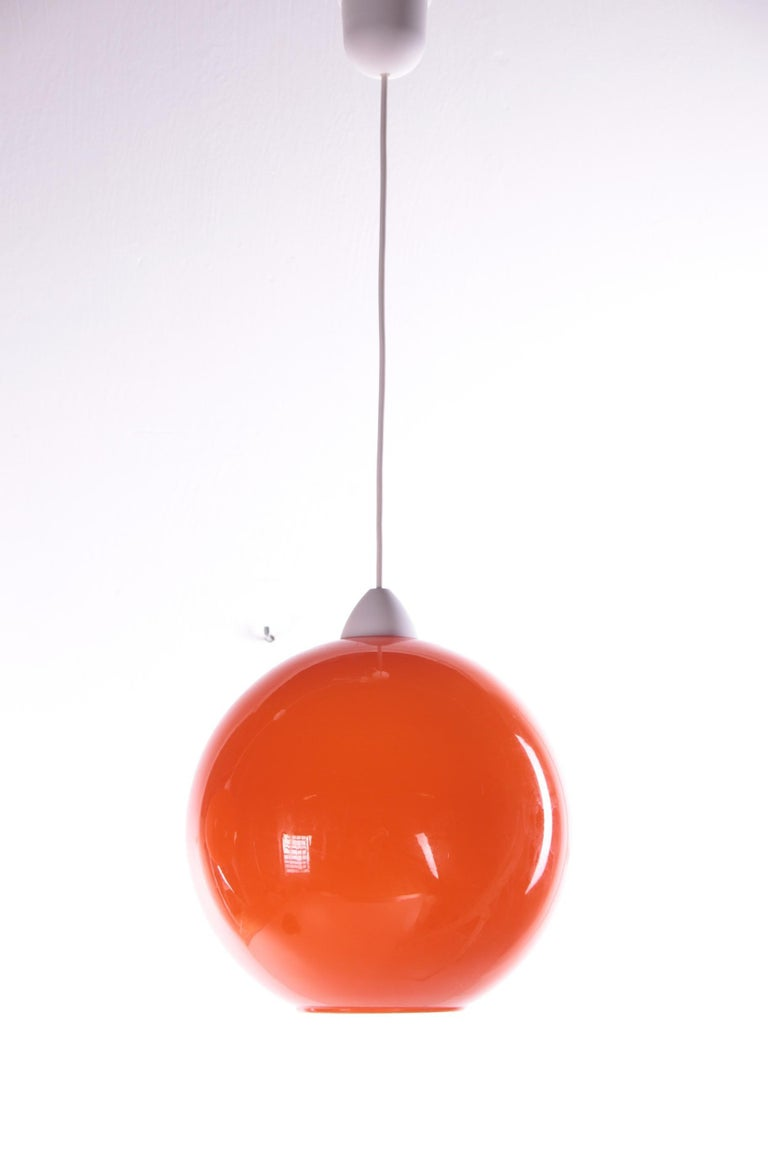 Mid-Century Modern Hanging Lamp Model ui by Vistosi, Design by Alessandro Pianon 1960s For Sale