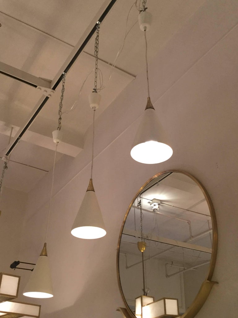 Italian Hanging Light, Italy, 1965 For Sale