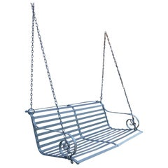Hanging Metal Garden or Porch Swing