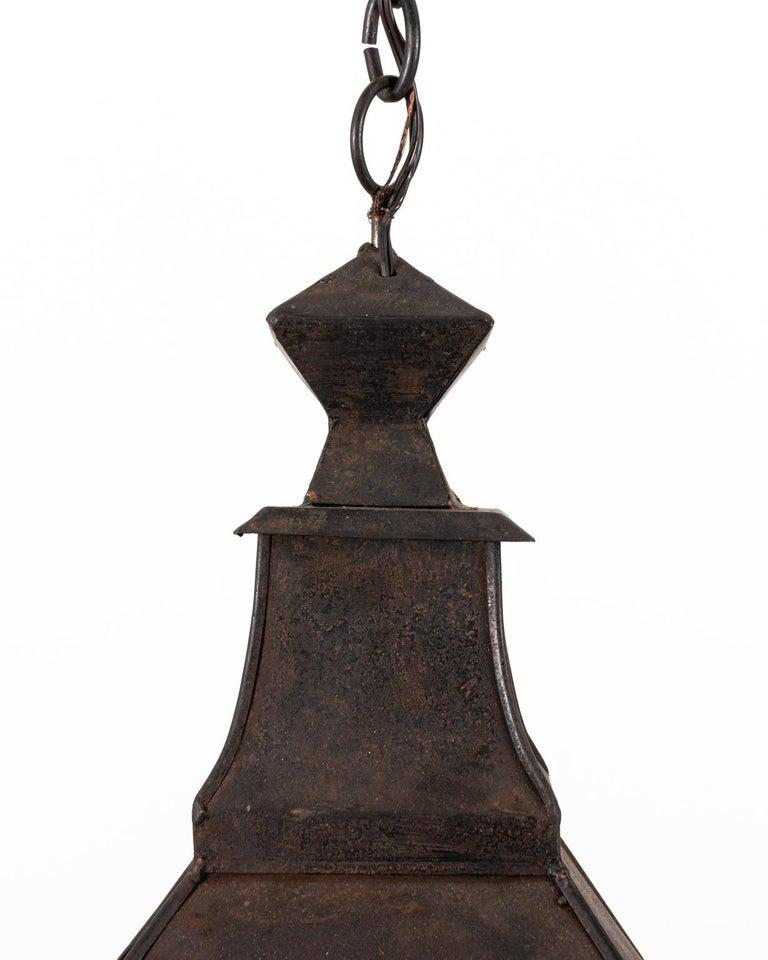 Hanging Metal Lantern For Sale 2
