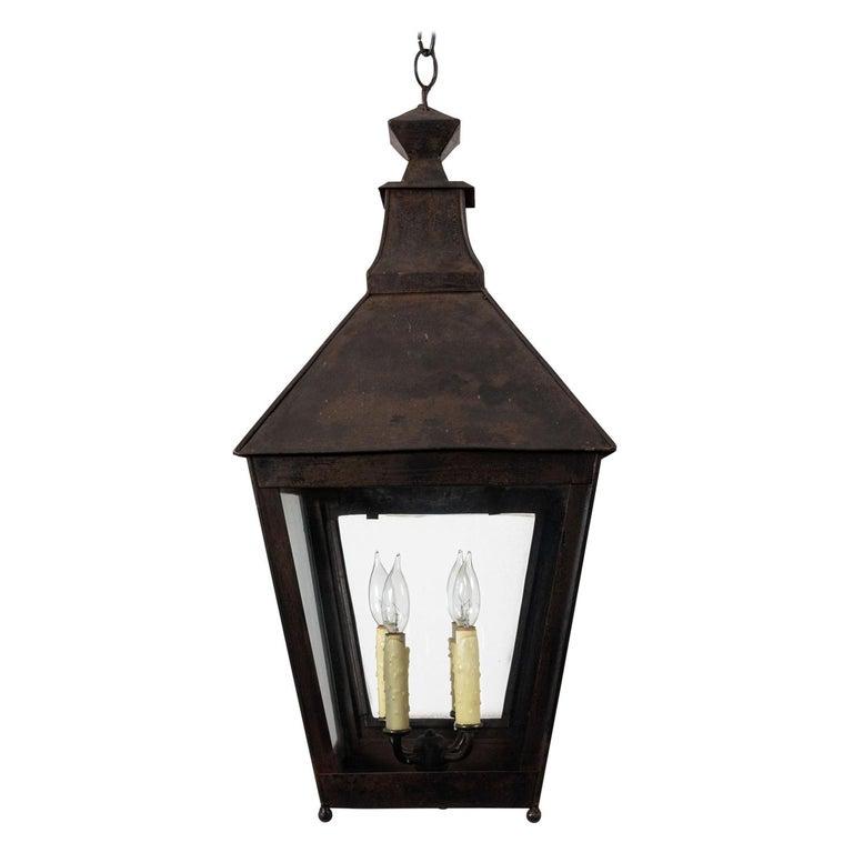 Hanging Metal Lantern For Sale