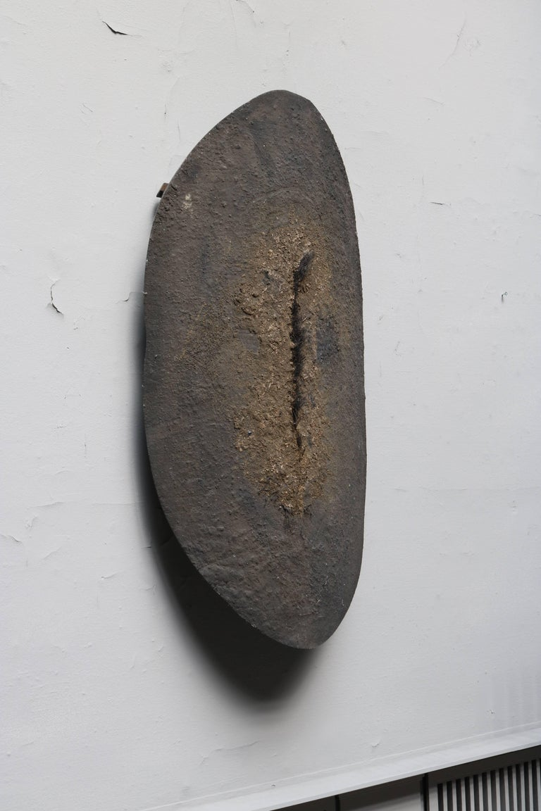 20th Century Hanging Wall Sculpture, 'Sköld-A' by Swedish Lenny Clarhäll For Sale