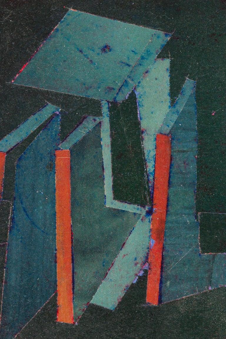 American Hank Virgona Mixed-Media Artwork, USA, 2000s For Sale