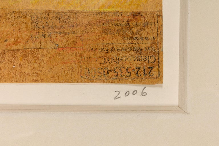 American Hank Virgona Mixed-Media Artwork, USA 2000s For Sale