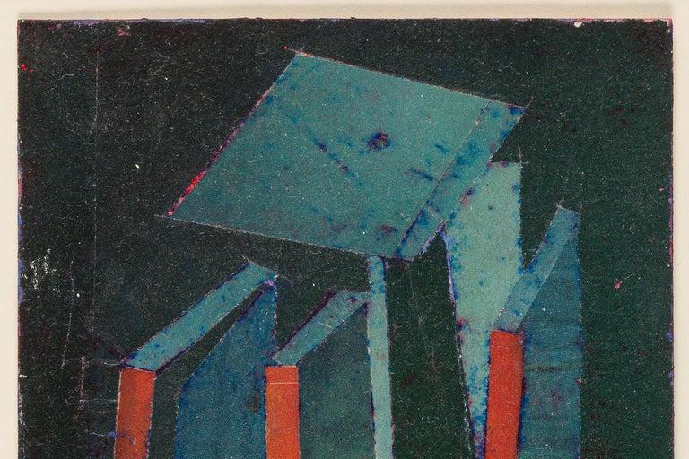 Contemporary Hank Virgona Mixed-Media Artwork, USA, 2000s For Sale