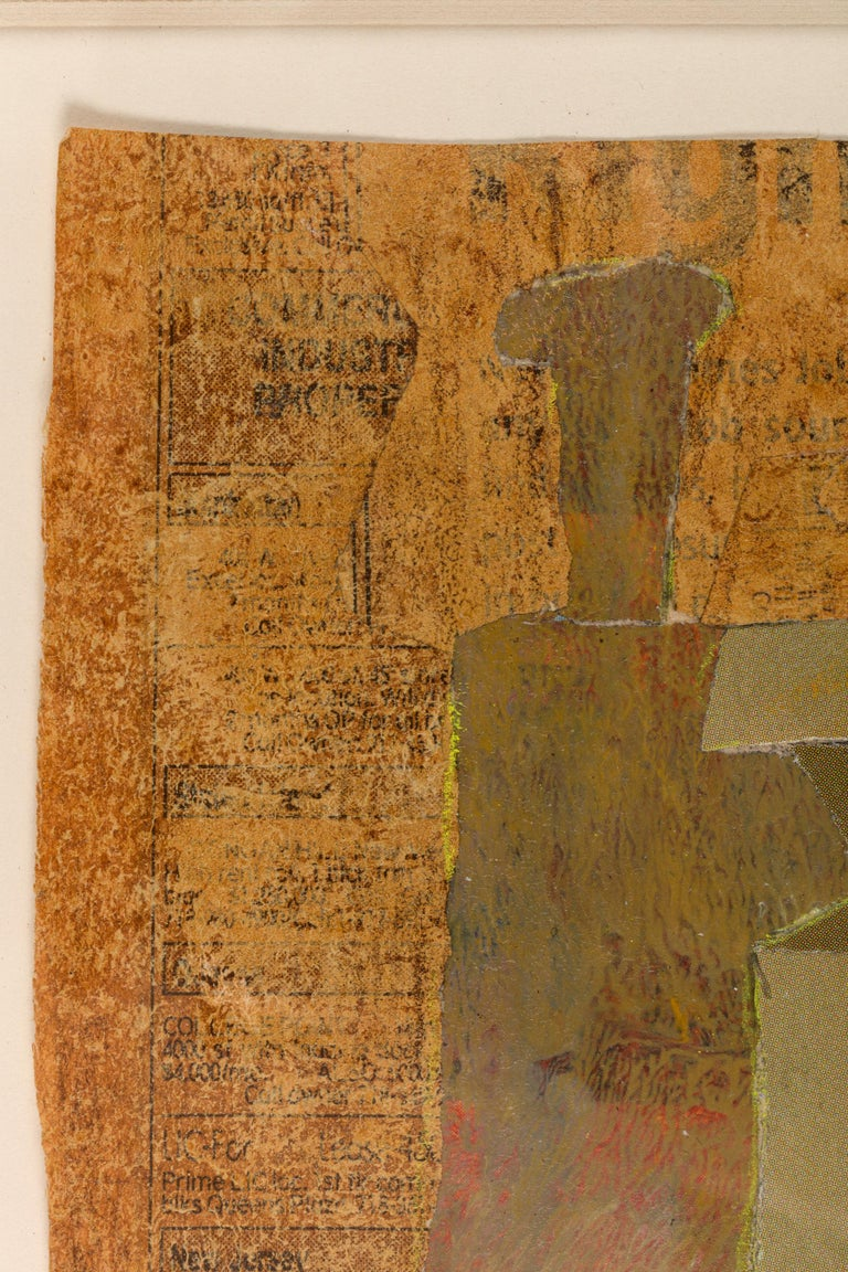 Contemporary Hank Virgona Mixed-Media Artwork, USA 2000s For Sale