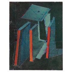 Hank Virgona Mixed-Media Artwork, USA, 2000s