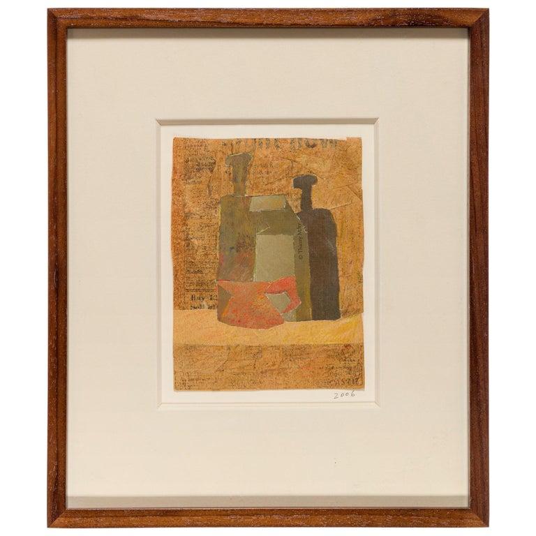Hank Virgona Mixed-Media Artwork, USA 2000s For Sale