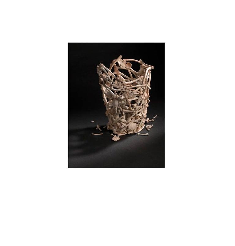 Hannah Alex-Glasser Still-Life Sculpture - Calcium Dances