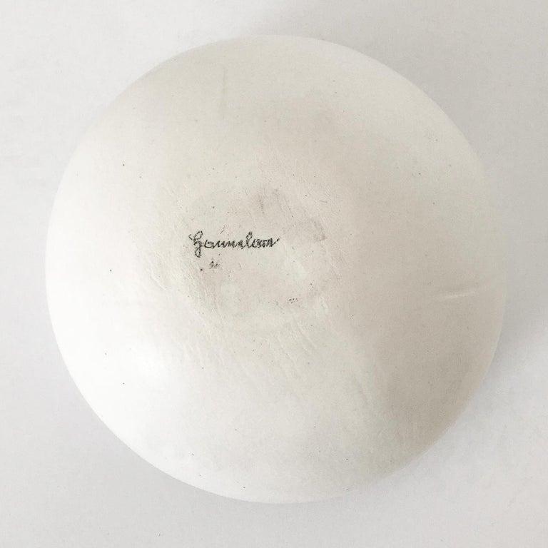 Hannelore Fasciszewski Sculptural Porcelain Bowl For Sale 6
