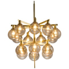 Hans-Agne Jakobsson 'Pastoral' Chandelier with Glass Spheres
