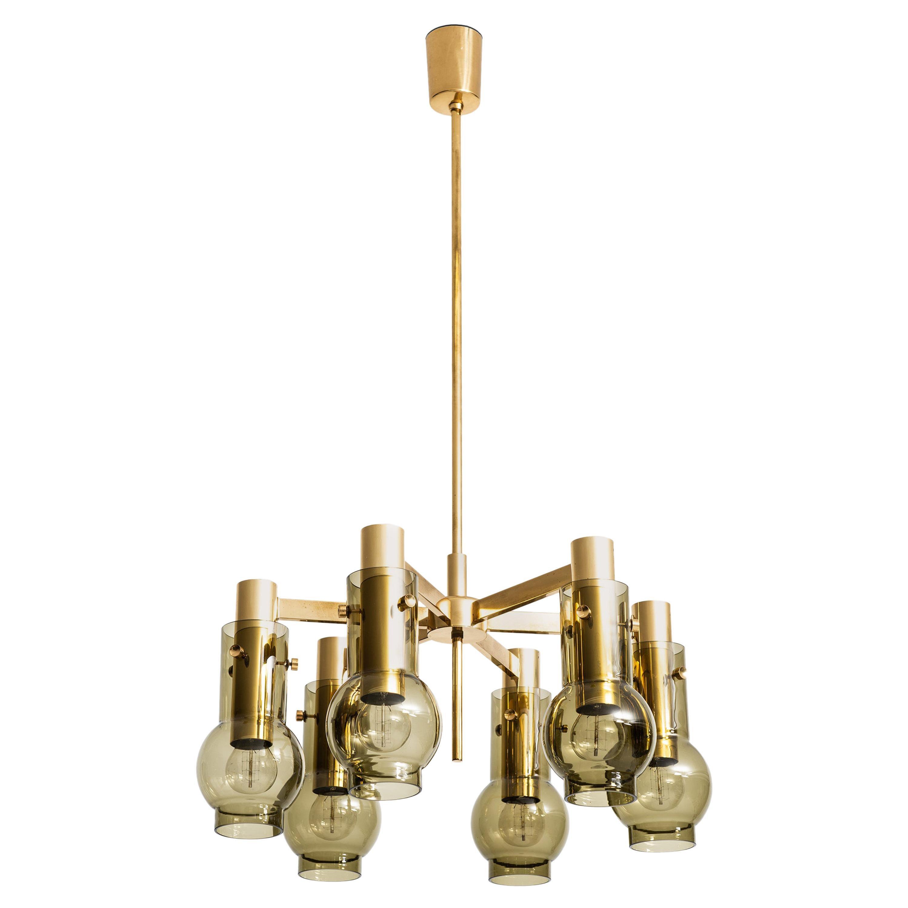 Hans-Agne Jakobsson Ceiling Lamp by Hans-Agne Jakobsson AB in Sweden