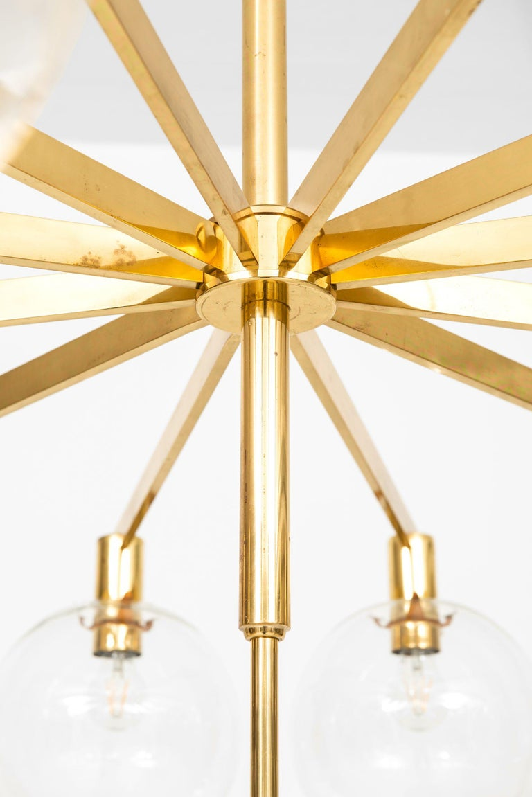 Scandinavian Modern Hans-Agne Jakobsson Ceiling Lamp Model T-348/12 by Hans-Agne Jakobsson AB