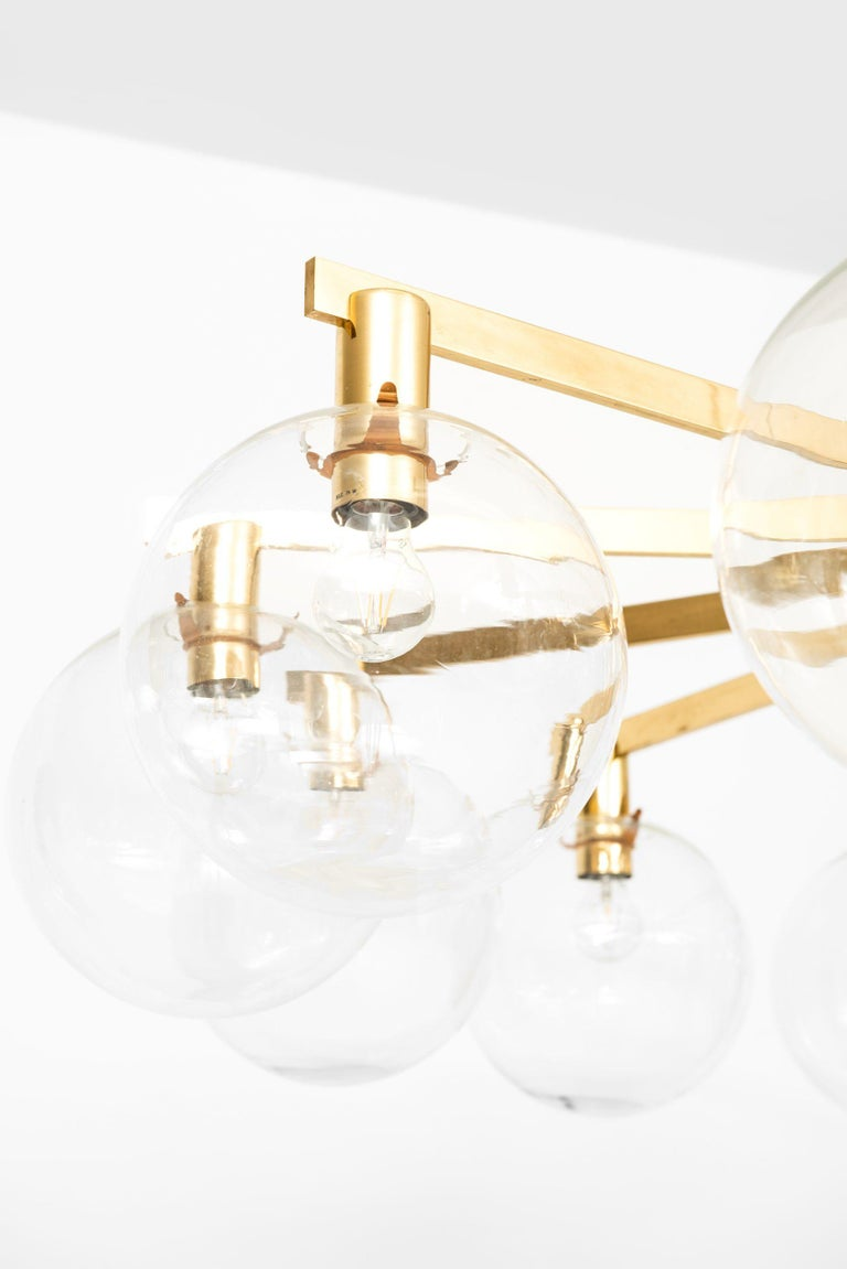 Mid-20th Century Hans-Agne Jakobsson Ceiling Lamp Model T-348/12 by Hans-Agne Jakobsson AB