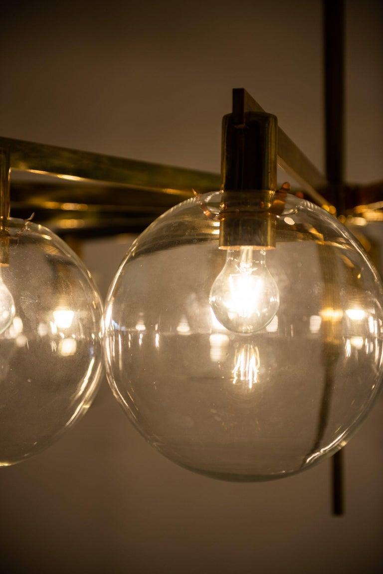 Hans-Agne Jakobsson Ceiling Lamp Model T-348/12 by Hans-Agne Jakobsson AB 1