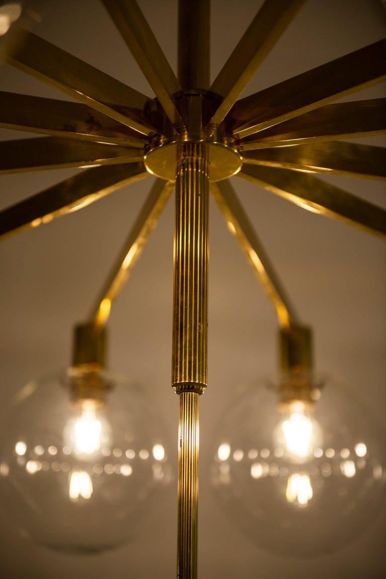 Hans-Agne Jakobsson Ceiling Lamp Model T-348/12 by Hans-Agne Jakobsson AB 2