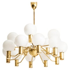 Hans-Agne Jakobsson Ceiling Lamp Model T-372/15 by Hans-Agne Jakobsson Ab