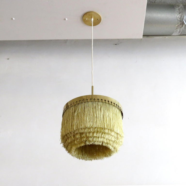 Scandinavian Modern Hans-Agne Jakobsson Ceiling Lamp Model T601, 1960