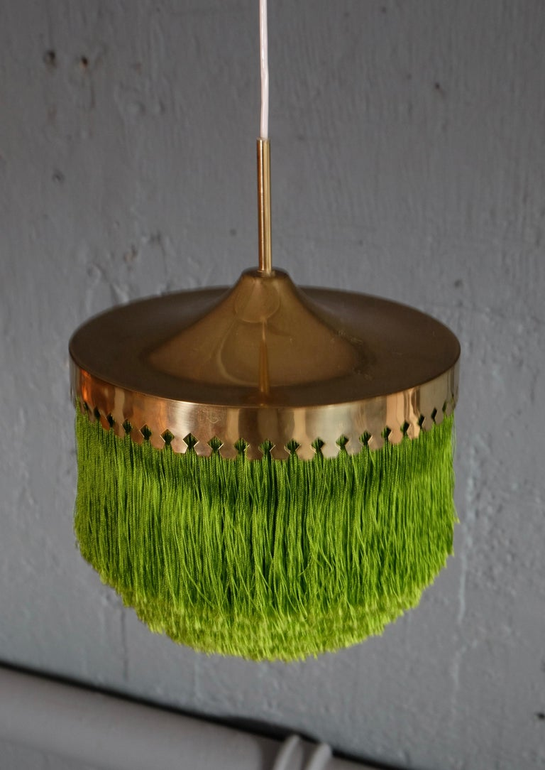 Scandinavian Modern Hans-Agne Jakobsson Ceiling Lamp Model T601/M, 1960s For Sale