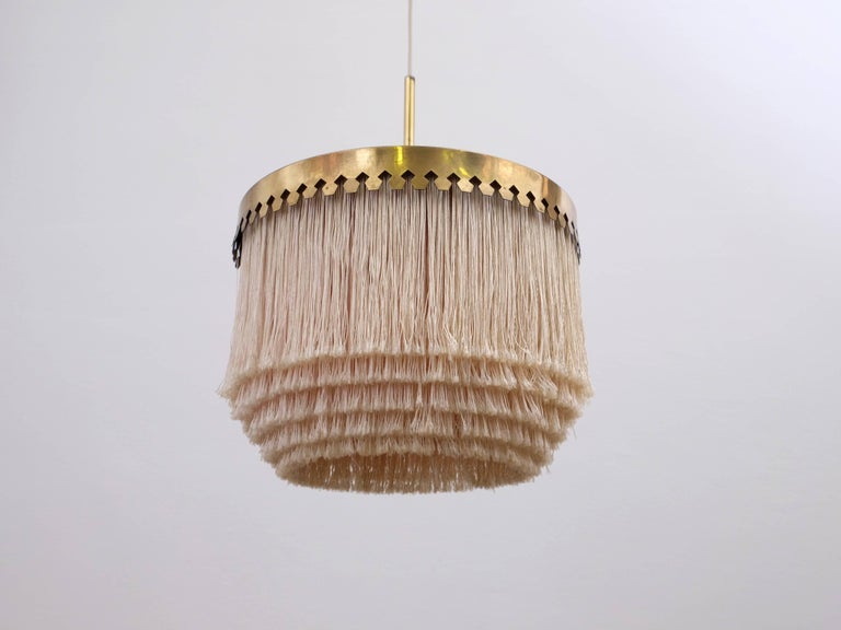 Swedish Hans-Agne Jakobsson Ceiling Lamp Model T601/M, 1960s For Sale