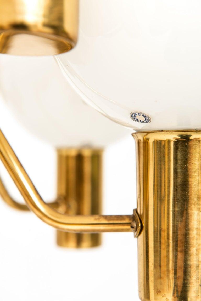 Ceiling lamp model T372/12 Patricia designed by Hans-Agne Jakobsson. Produced by Hans-Agne Jakobsson AB in Markaryd, Sweden.