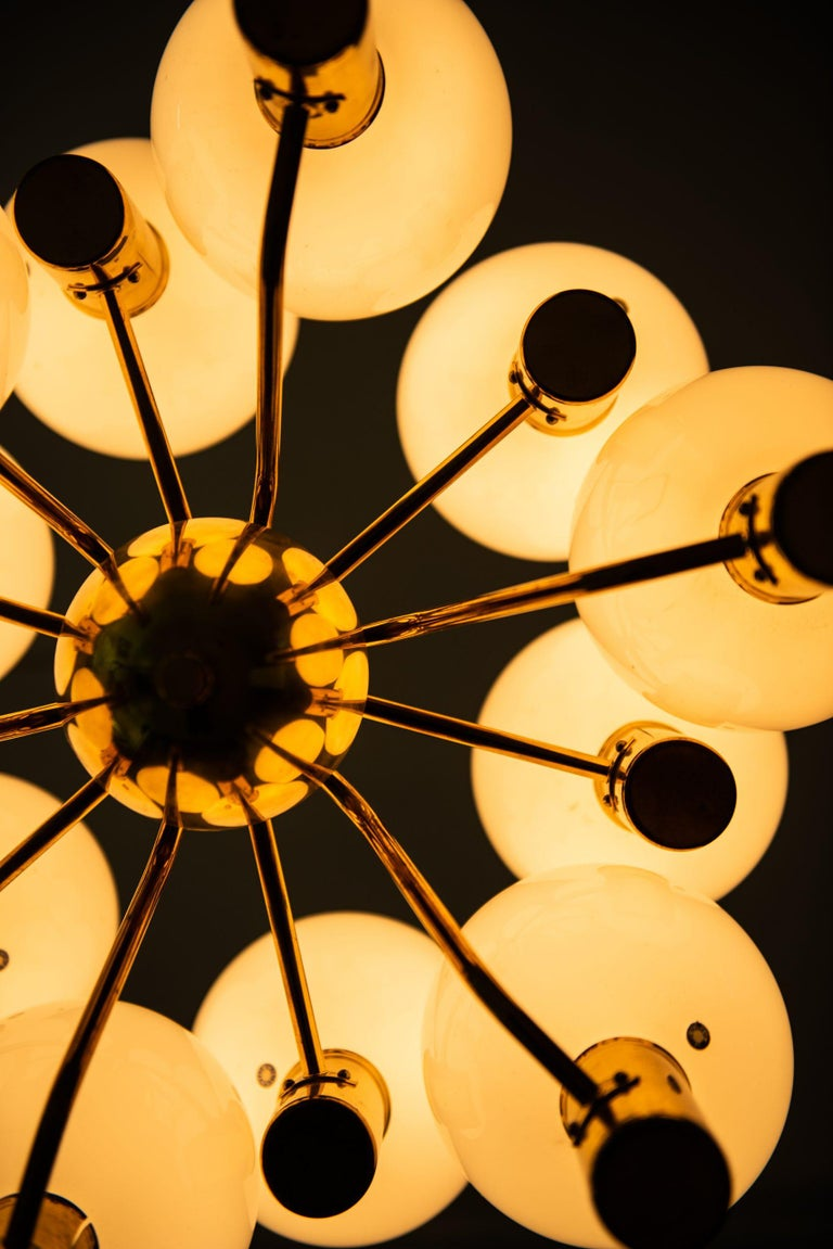 Mid-20th Century Hans-Agne Jakobsson Ceiling Lamp T372/12 Patricia by Hans-Agne Jakobsson AB For Sale