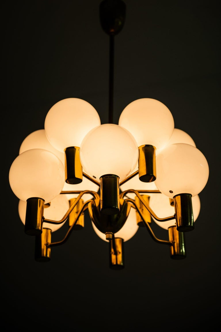 Hans-Agne Jakobsson Ceiling Lamp T372/12 Patricia by Hans-Agne Jakobsson AB For Sale 1