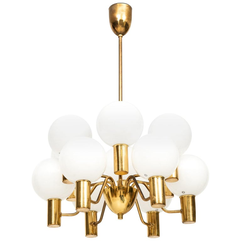 Hans-Agne Jakobsson Ceiling Lamp T372/12 Patricia by Hans-Agne Jakobsson AB For Sale