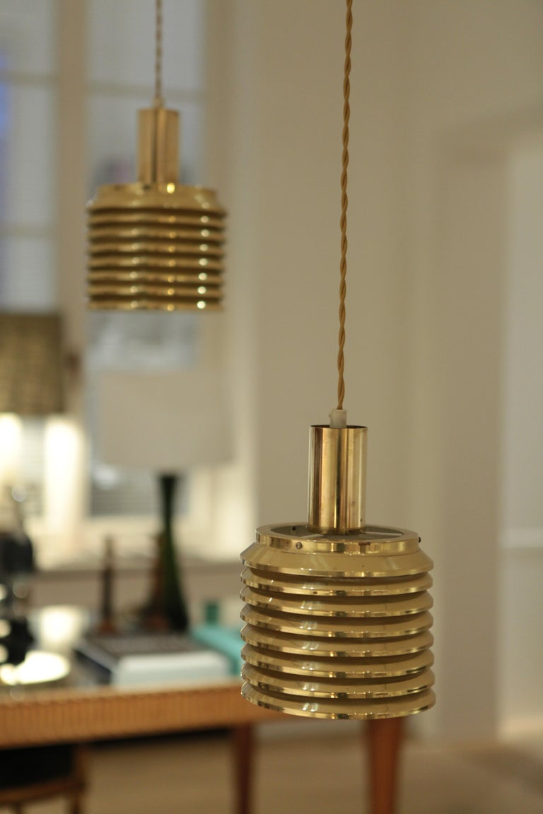 Swedish Hans-Agne Jakobsson Ceiling Lights Model T-642, Sweden, 1950s For Sale