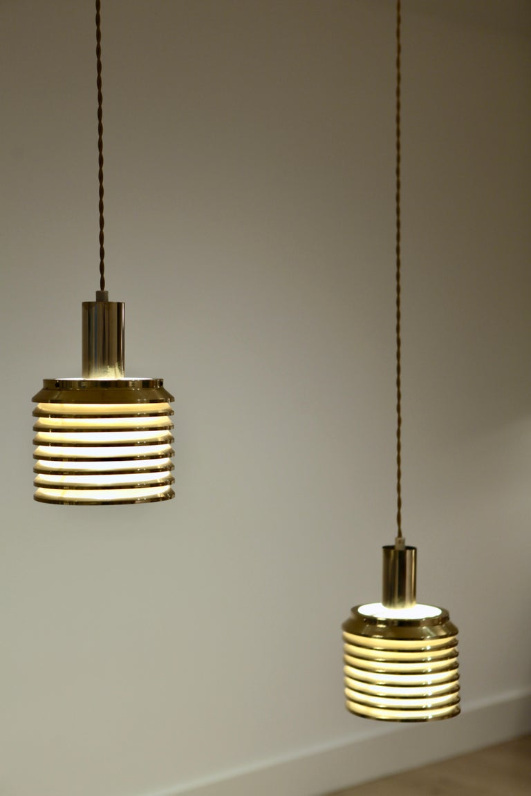 Hans-Agne Jakobsson Ceiling Lights Model T-642, Sweden, 1950s For Sale 1