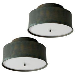 Hans-Agne Jakobsson Copper Flush Mount Lights