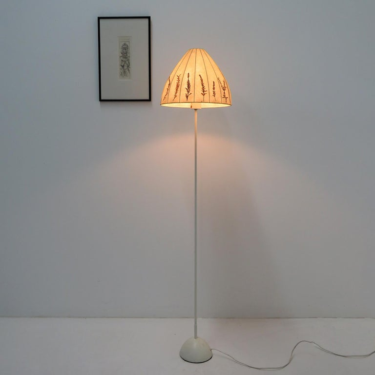 Fabric Hans-Agne Jakobsson Floor Lamp, 1960 For Sale