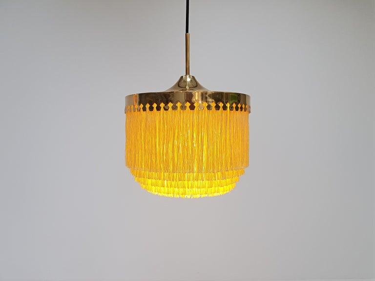 Swedish Hans-Agne Jakobsson for Markaryd Model T601/M Pendant, 1960s For Sale