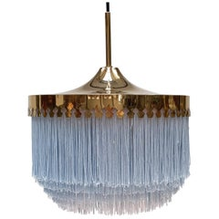 Hans-Agne Jakobsson for Markaryd Model T601/M Pendant in Light Blue, 1960s