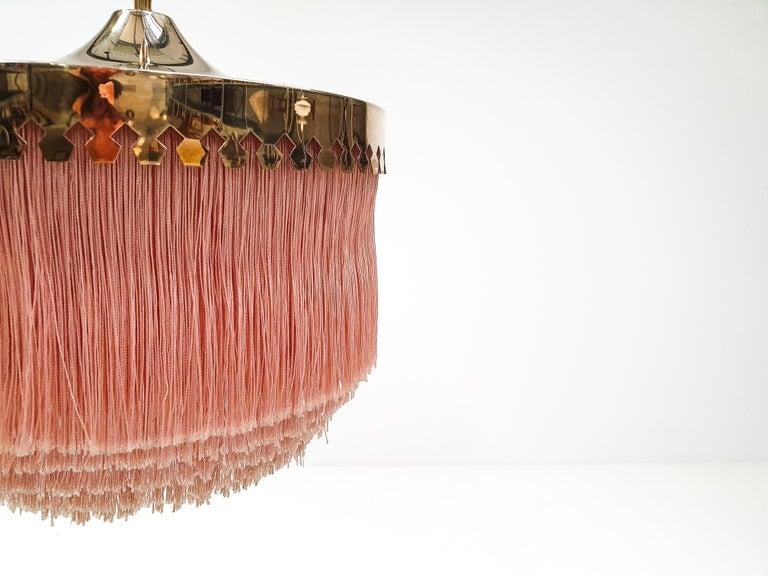 Hans-Agne Jakobsson for Markaryd Model T601/M Pendant in Pink, 1960s For Sale 4