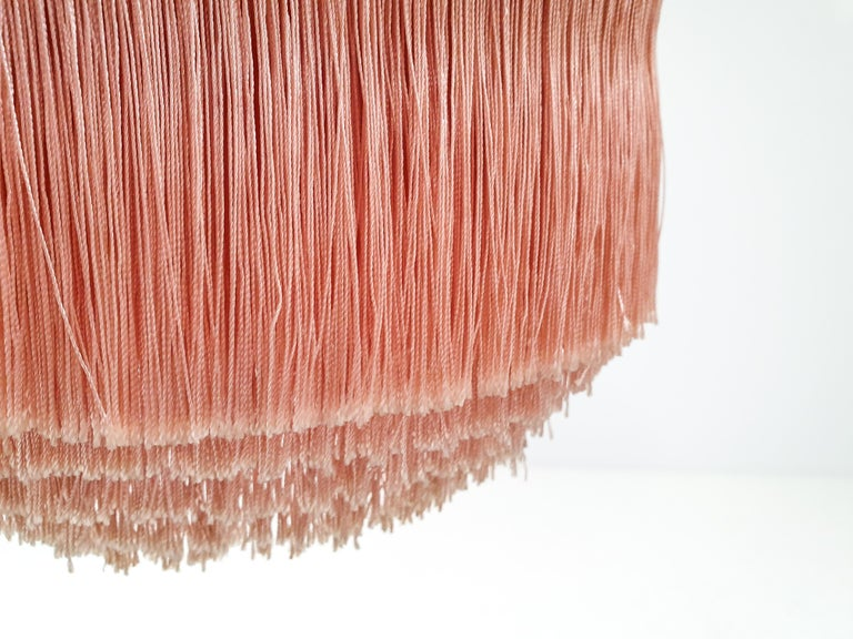 Hans-Agne Jakobsson for Markaryd Model T601/M Pendant in Pink, 1960s For Sale 5