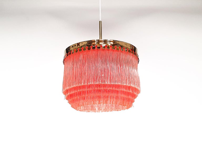 20th Century Hans-Agne Jakobsson for Markaryd Model T601/M Pendant in Pink, 1960s For Sale