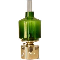 Hans Agne Jakobsson Oil Lamp Markaryd Sweden, 1950s Typ L47