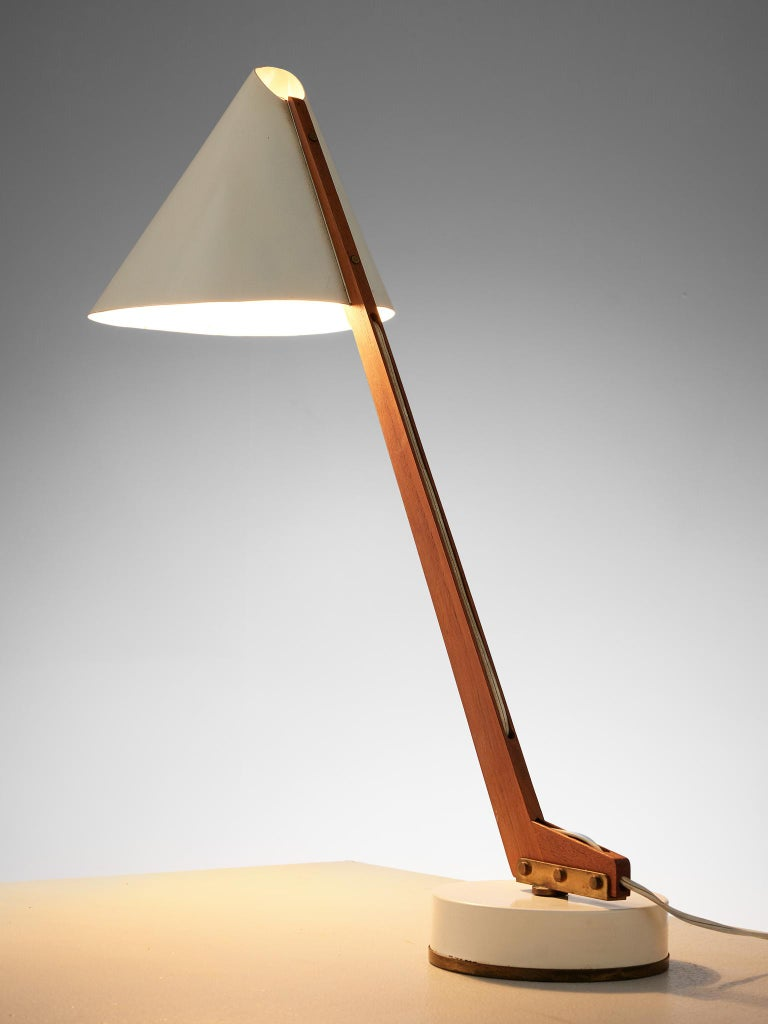 Mid-20th Century Hans Agne Jakobsson Pair of 'B54' Table Lamps, circa 1955 For Sale