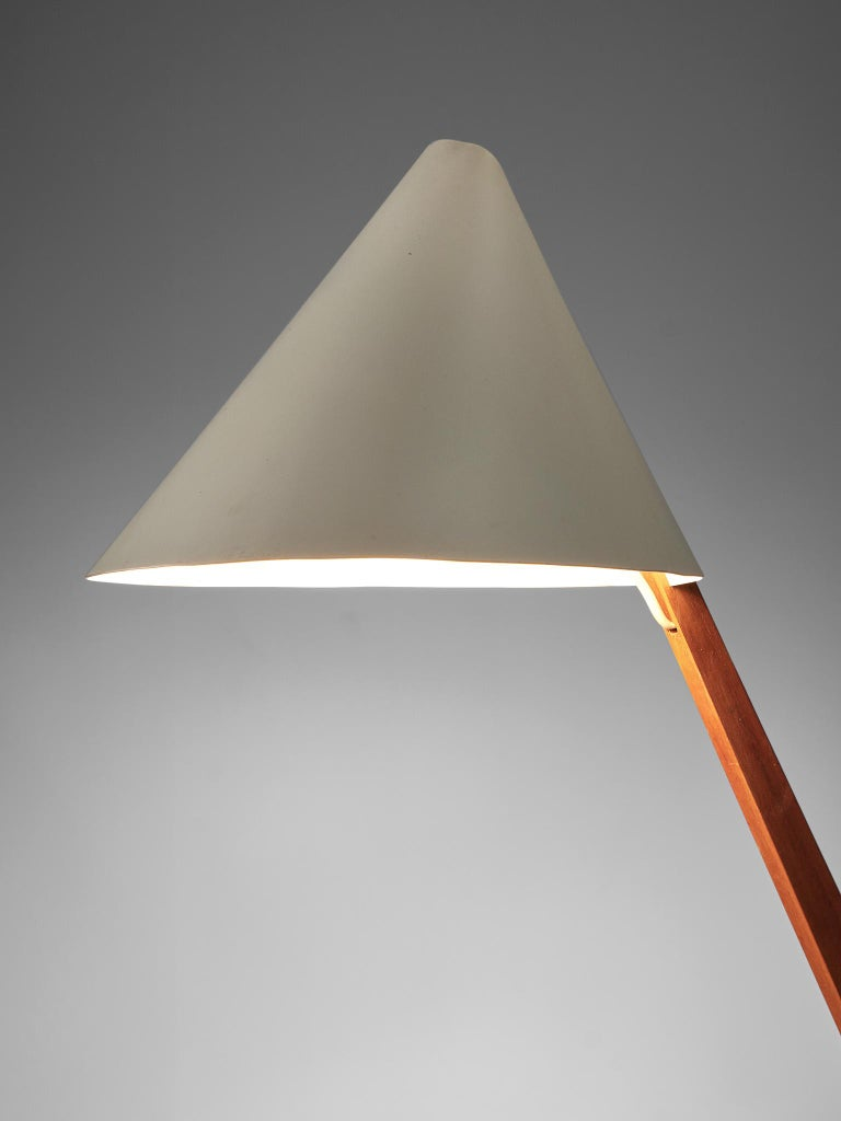 Aluminum Hans Agne Jakobsson Pair of 'B54' Table Lamps For Sale