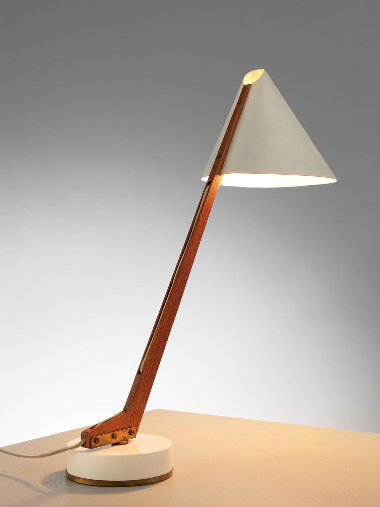 Hans Agne Jakobsson Pair of 'B54' Table Lamps For Sale 2