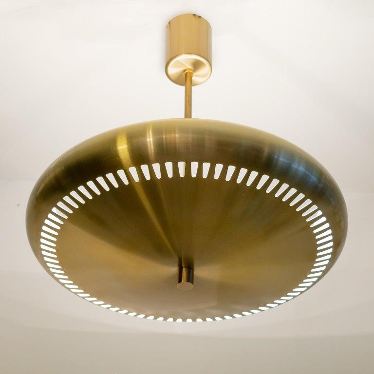 Scandinavian Hans-Agne Jakobsson Scandinavain Modern Uplight Pendant 'B' For Sale