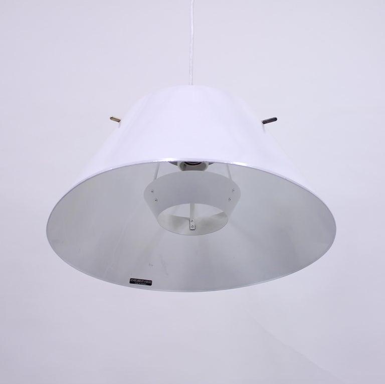 Hans-Agne Jakobsson, Sheet Metal Ceiling Lamp, 1970s For Sale 2