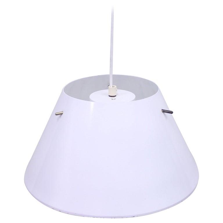 Hans-Agne Jakobsson, Sheet Metal Ceiling Lamp, 1970s For Sale