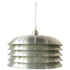 Hans-Agne Jakobsson T-742 Aluminum Ceiling Lamp, Sweden