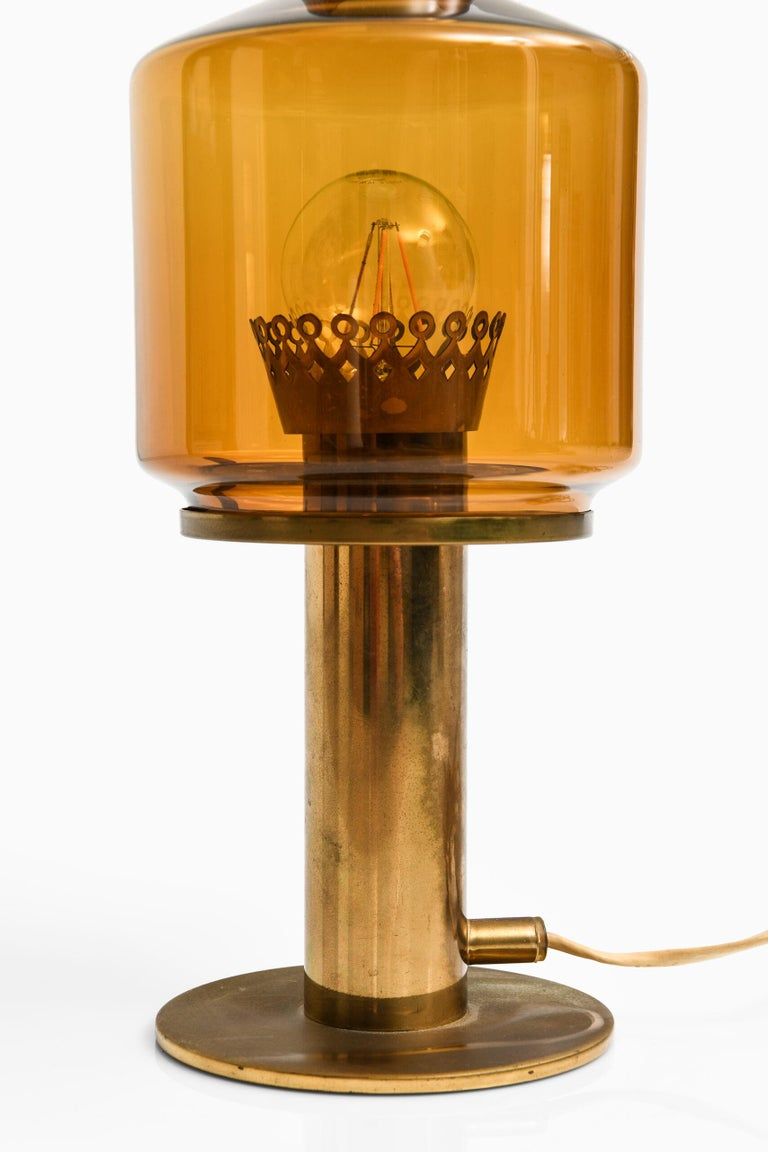 Scandinavian Modern Hans-Agne Jakobsson Table Lamp B-102 by Hans-Agne Jakobsson AB in Markaryd For Sale